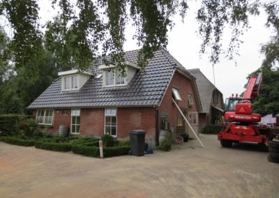 Geheel nieuwe dakconstructie en indeling bovenverdieping, Epe