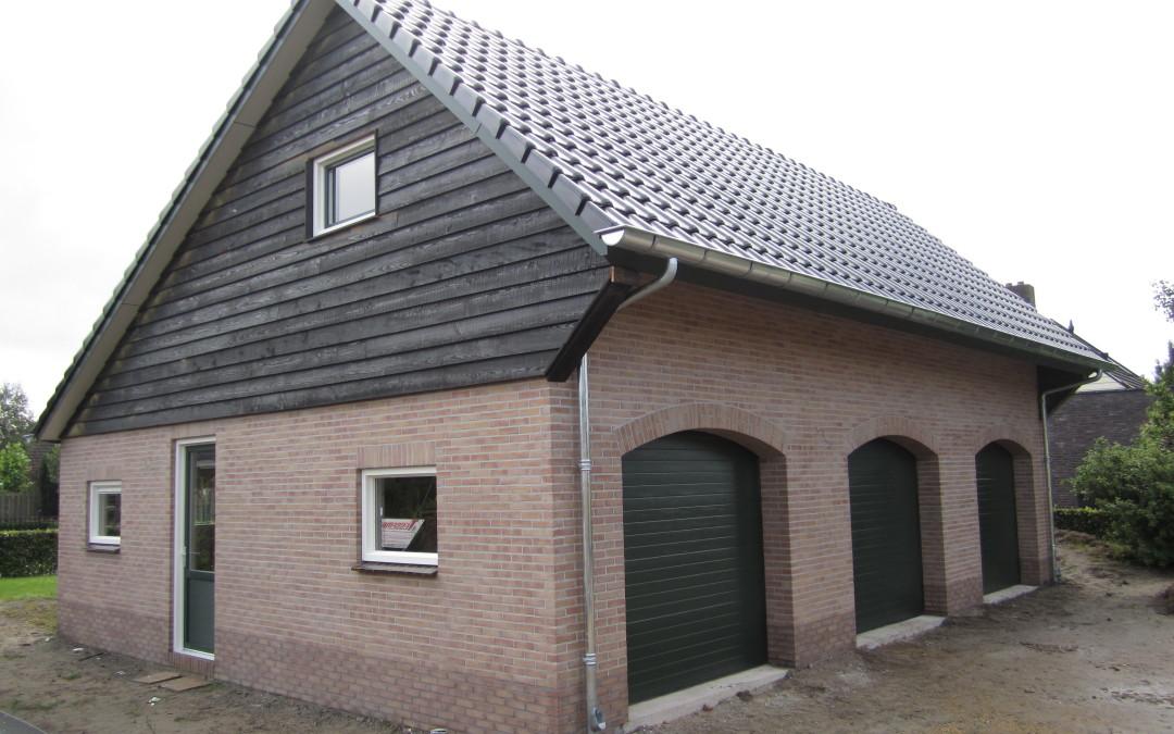 Nieuwbouw garage/schuur, Oene