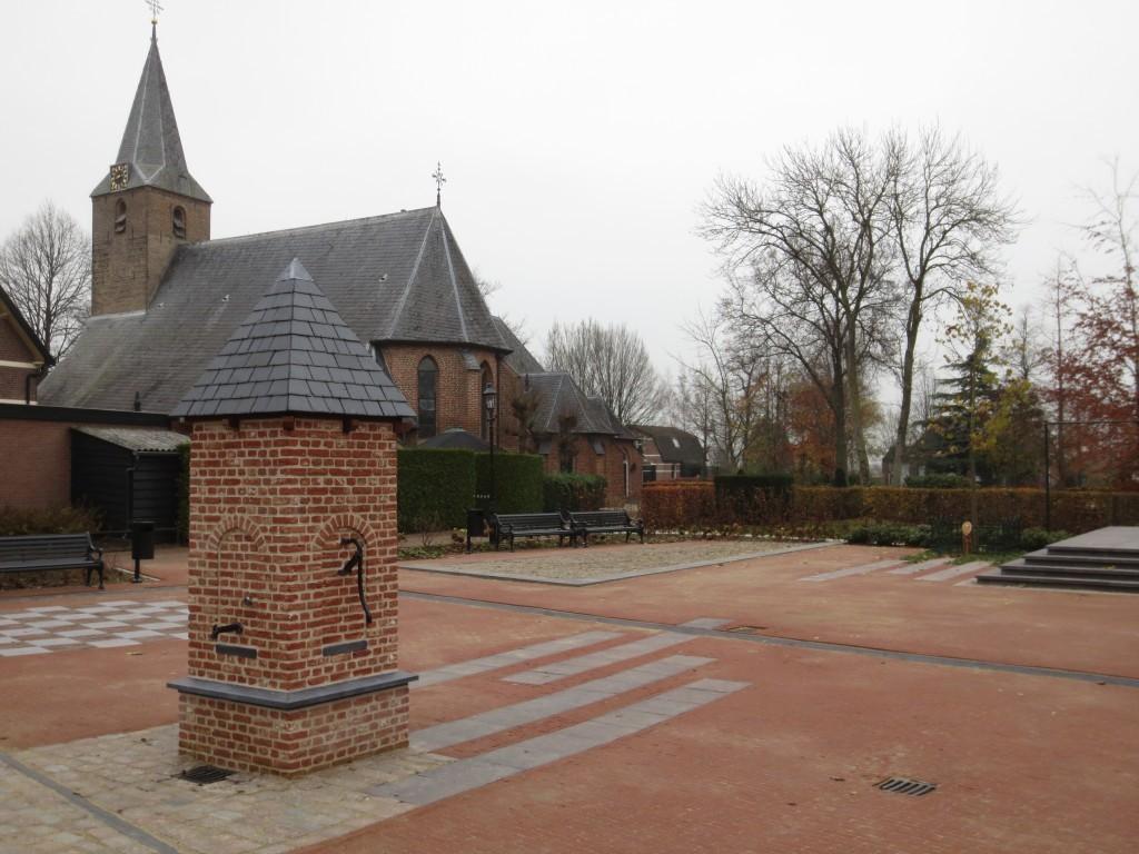Bouw dorpspomp op nieuw dorpsplein