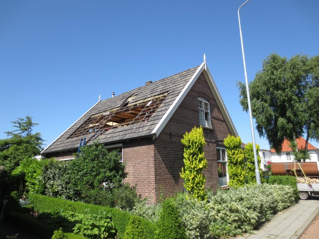 dakkapel plaatsen op vrijstaande woning in wezep uw