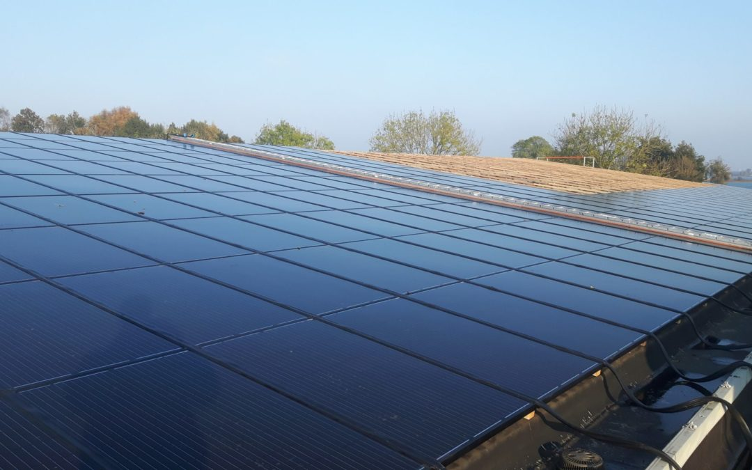 Dakrenovatie tbv zonnepanelen, Loosdrecht, Noord-Holland